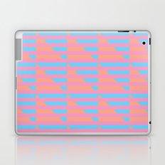 Pink Blue Peach Houndstooth /// www.pencilmeinstationery.com Laptop & iPad Skin