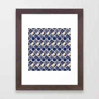 Blue Moon Diamonds Framed Art Print
