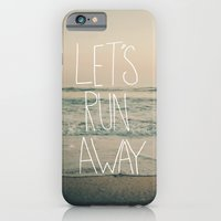 Let's Run Away By Laura … iPhone 6 Slim Case