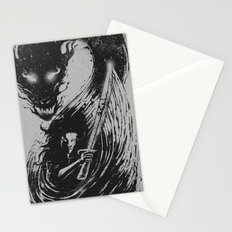 dragon sword Stationery Cards