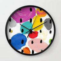 Bernard Pattern Wall Clock