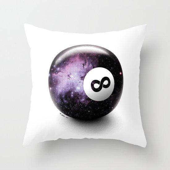 Infinity Shot Throw Pillow