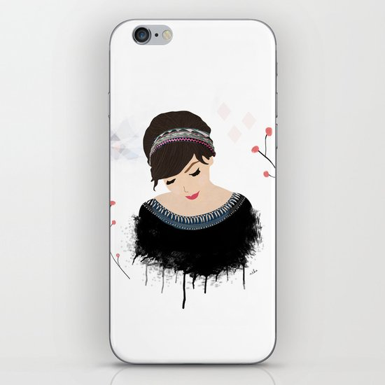 ONE SWEET GIRL iPhone & iPod Skin