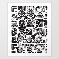 ABSTRACT 006 Art Print