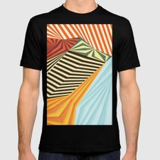 Yaipei Mens Fitted Tee SMALL Black