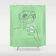 Selfie.t. Shower Curtain
