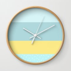 Easy like Sunday Morning Wall Clock