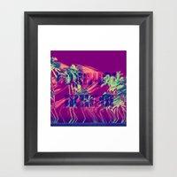Горячая лини�… Framed Art Print