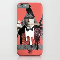 death iPhone & iPod Cases featuring Death by Repulp