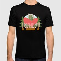 EcoFriendly Mens Fitted Tee Black SMALL