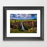 North Clear Creek Falls Framed Art Print
