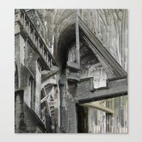 English Gothic Canvas Print