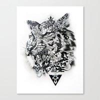Venom Fame Canvas Print