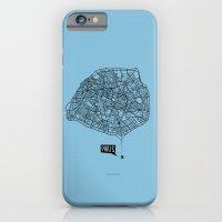 iPhone & iPod Case featuring Spidermaps #1 Dark by Inksider