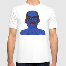 Tobias Funke White Mens Fitted Tee SMALL