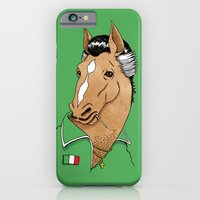 iPhone & iPod Case featuring Italian Stallion by Tom Burns