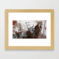 It Was a Bad Day Framed Art Print