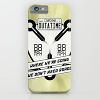 We Don't Need Roads iPhone 6 Slim Case