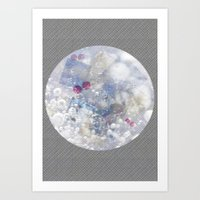 Water Bubble Art Print