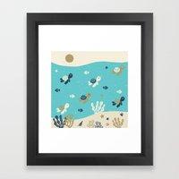 Tortugas Framed Art Print