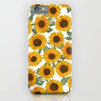 SUNNY DAYS -sunflowers- iPhone 6 Slim Case