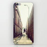 Diagonal Alley iPhone & iPod Skin