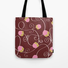 Raspberry Patch Red Tote Bag