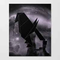 Origami Constellation Canvas Print