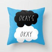 Okay? Okay Throw Pillow