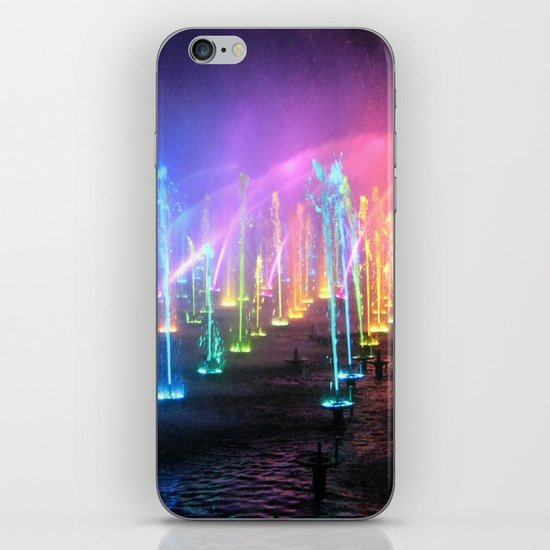 Lights in the Water iPhone & iPod Skin