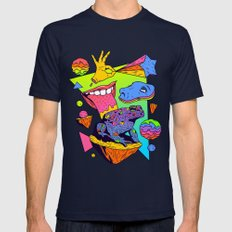 Licker Mens Fitted Tee Navy SMALL