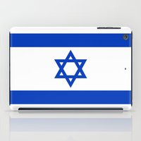 The National flag of the State of Israel iPad Case