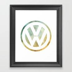 Volkswagen Vee Dub Framed Art Print