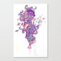 Vapor Canvas Print