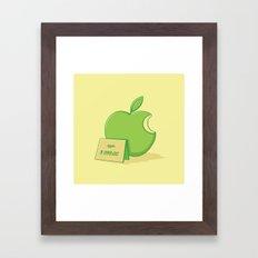 Marketing power Framed Art Print