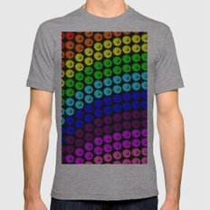 Chase the rainbow Mens Fitted Tee Athletic Grey SMALL