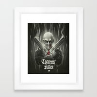Contract Killer Framed Art Print