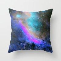 Charm Nebula Throw Pillow