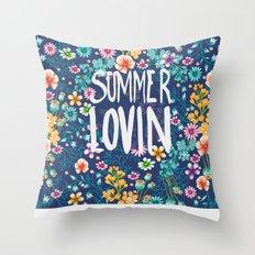 Summer Lovin Throw Pillow
