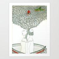 Navegando Art Print