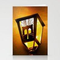Brooklyn Bridge Lantern Stationery Cards