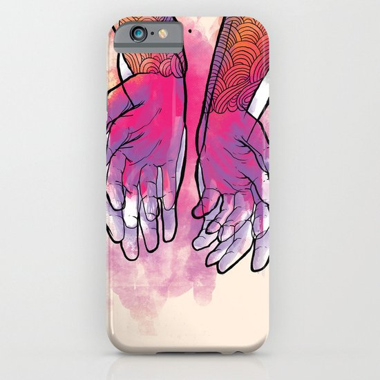 Dirty hands iPhone & iPod Case