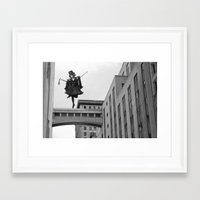 Side Streets and Sweethearts Framed Art Print