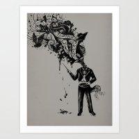 Cacophony Art Print