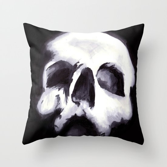 Bones II Throw Pillow