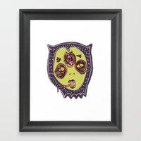 Gastric Bypass DEMON Fac… Framed Art Print