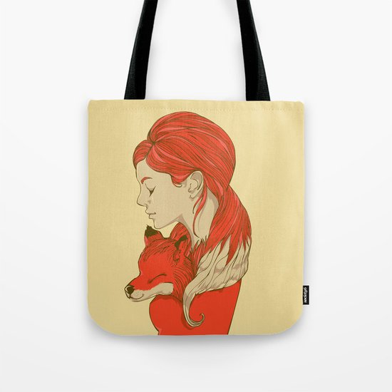 Lady Fox Tote Bag