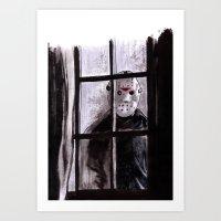Jason Lives Art Print