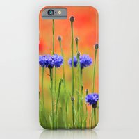 iPhone & iPod Case featuring Sapphires and Rubies by Irina Chuckowree