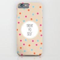 iPhone & iPod Case featuring Treat Yo Self II by Galaxy Eyes